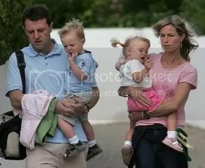 Gerry and Kate with twins