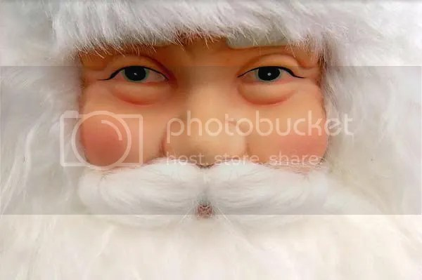 Santa says 'All is well & Merry Christmas to everyone.'