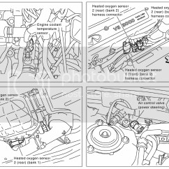 Car Bank 1 Diagram Lh Lx Torana Wiring Replace The Sensor Labeled Heated Oxygen 2 Rear