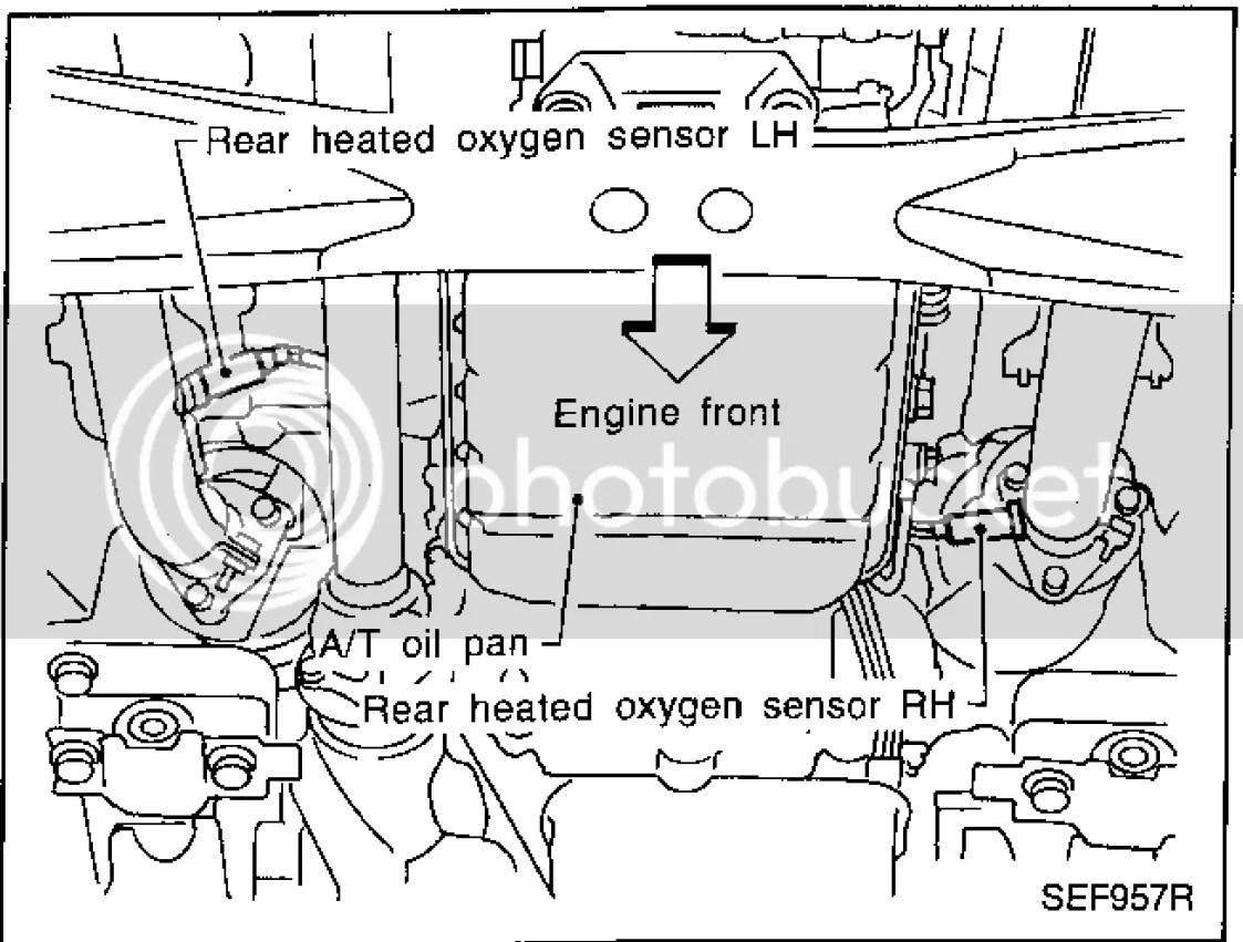 Infiniti Exhaust Diagram