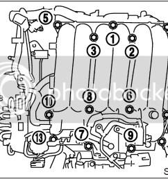 wtb 13 upper intake manifold bolts [ 1146 x 823 Pixel ]