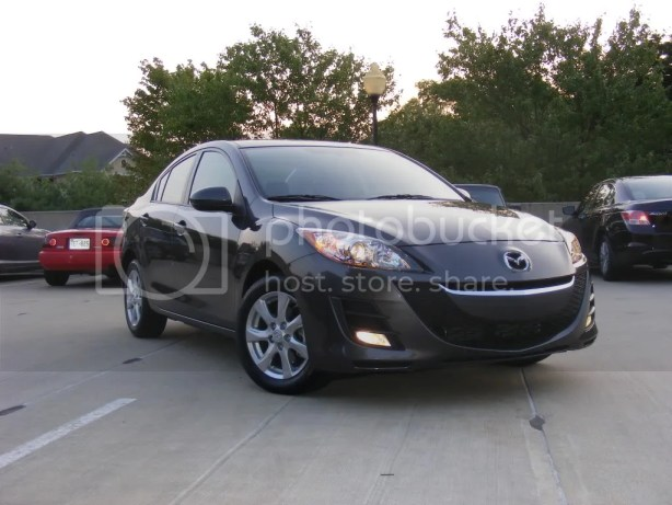 Our 2010 Mazda3i Touring tester.