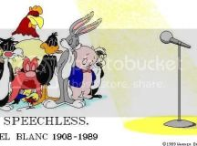 Mel Blanc...Speechless Photo by emjoeyem | Photobucket
