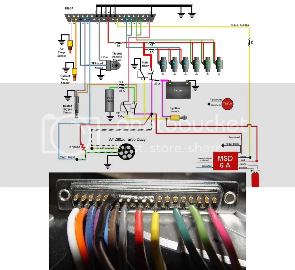hight resolution of megasquirt ii wiring diagram 280zx