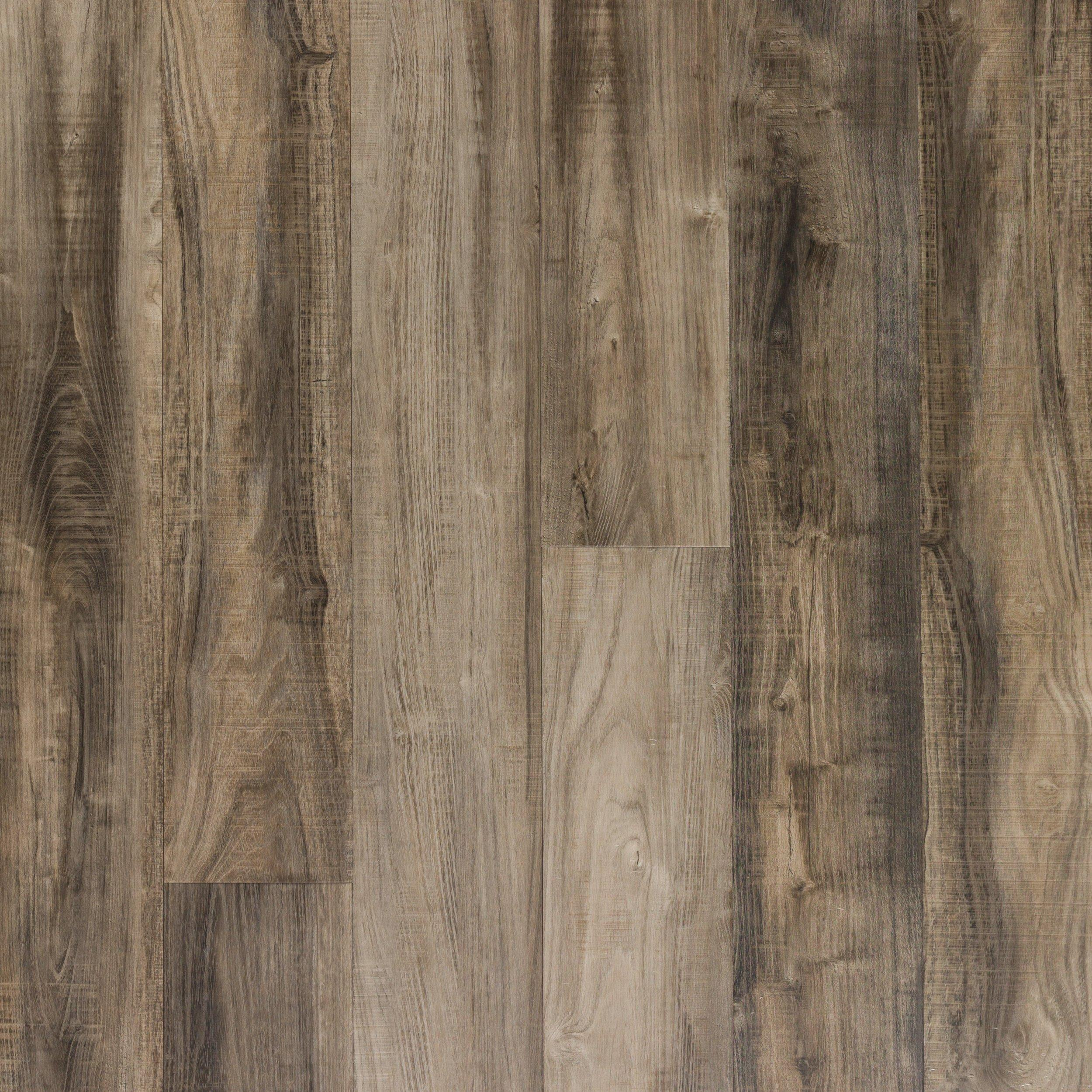 water resistant laminate flooring kitchen stuff for sale nucore ombre gray hand scraped plank with cork back - 6 ...