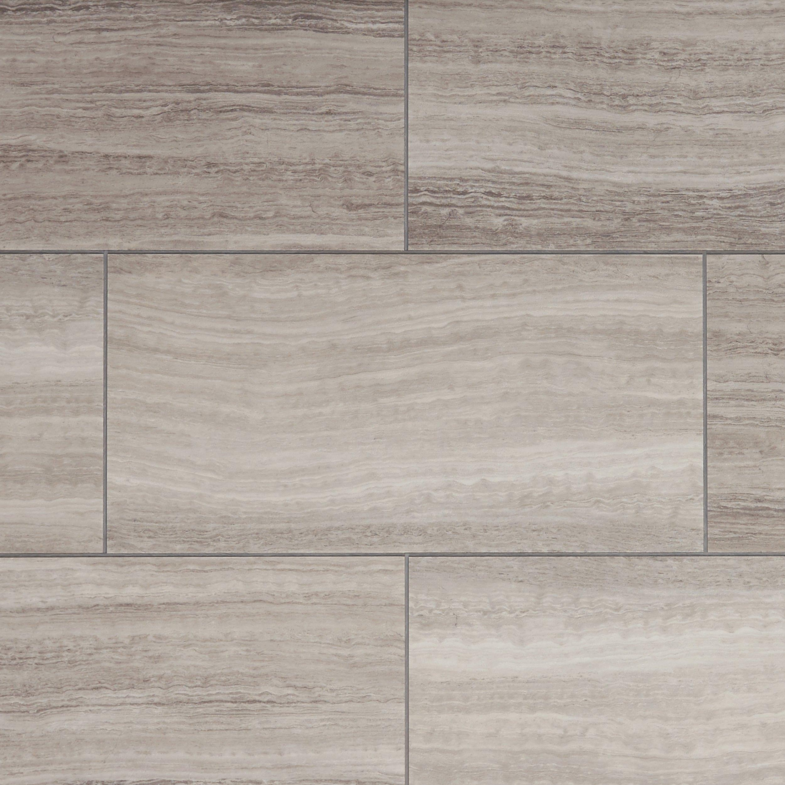 NuCore Gray Tile Plank with Cork Back  65mm  100376904