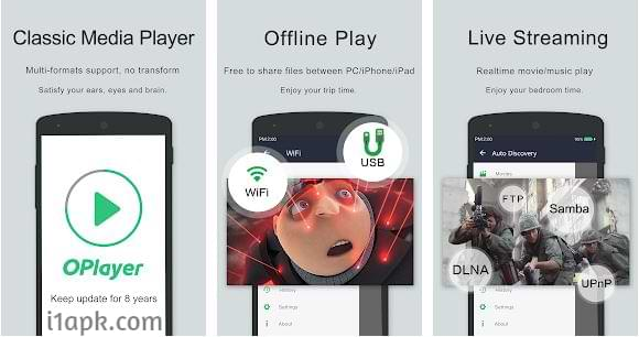 OPlayer Paid apk Free Download