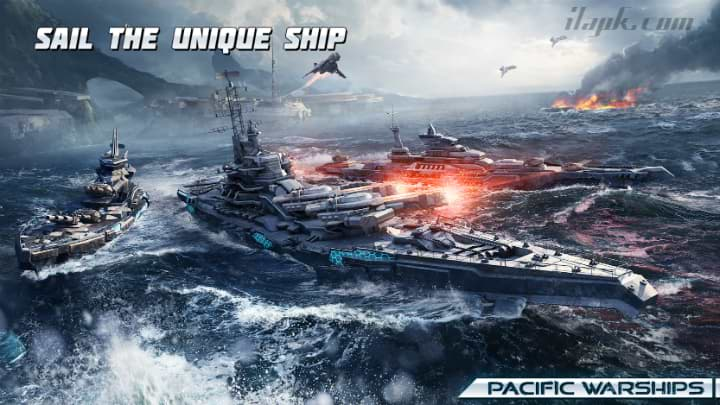 Pacific Warships World of Naval PvP Wargame for Android