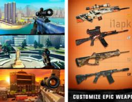 Sniper 3D Gun Shoting Unlimited Weapon Unlock