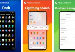 Xiaomi POCO launcher app for Android