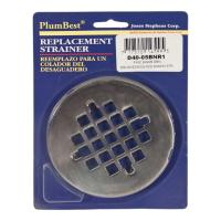 PlumBest Oil Rubbed Round Bronze Shower Drain Cover ...