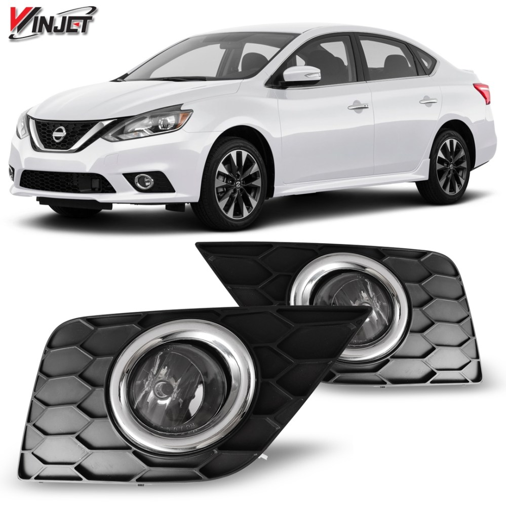 medium resolution of details about 17 19 for nissan sentra clear lens pair oe fog light lamp wiring switch kit dot