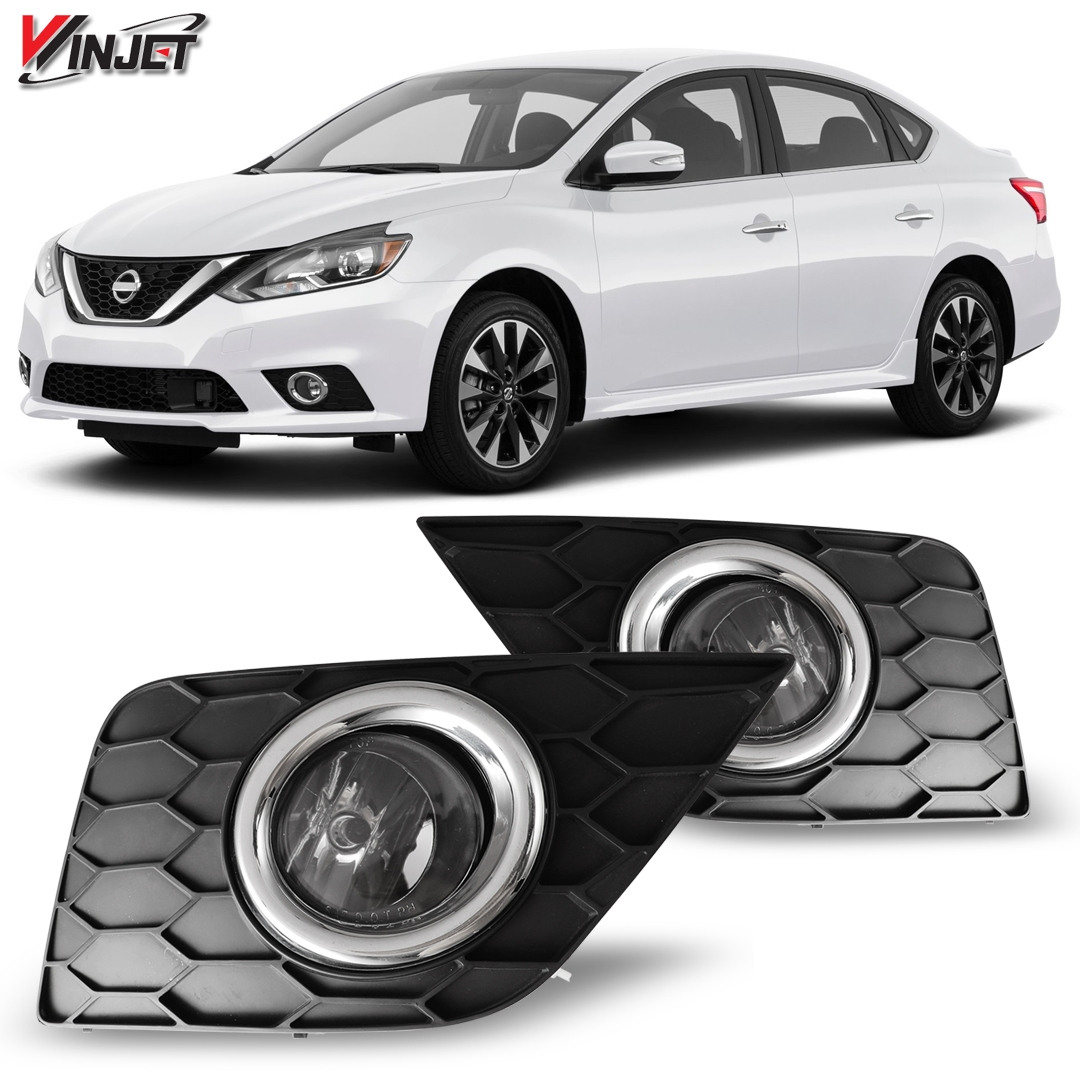 hight resolution of details about 17 19 for nissan sentra clear lens pair oe fog light lamp wiring switch kit dot