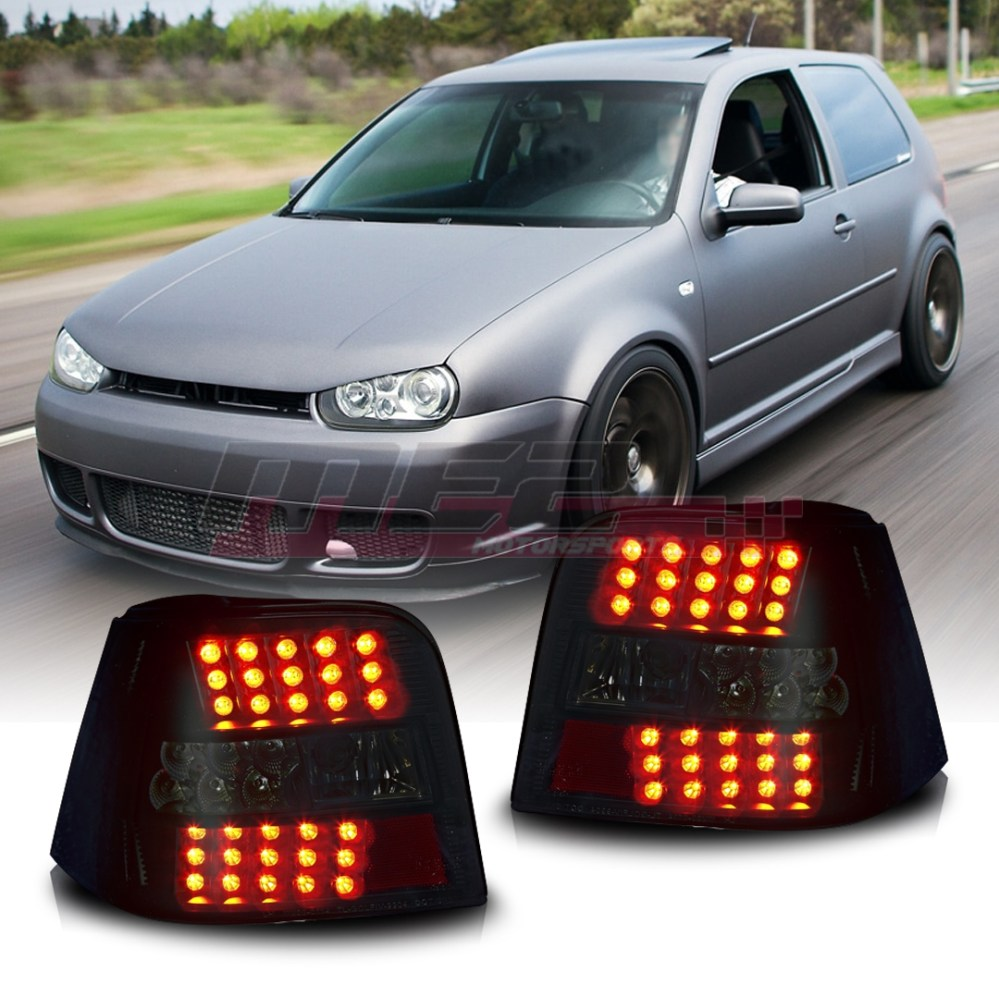 medium resolution of details about winjet fit for 1999 2006 vw volkswagen golf gti mk4 led brake tail lights smoke