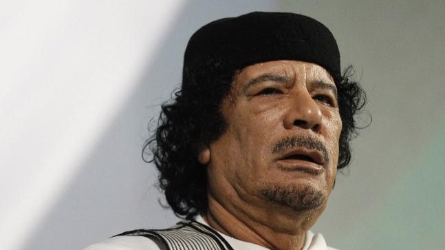Gaddafi in Rome