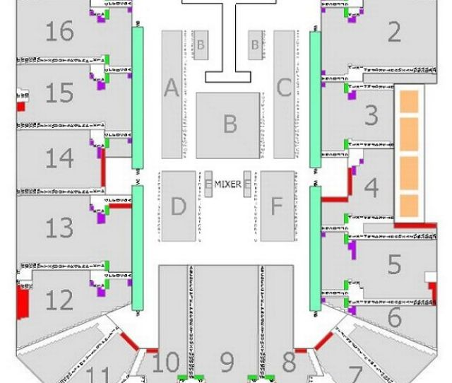 Genting Arena Seating Plan For The Britney Concert