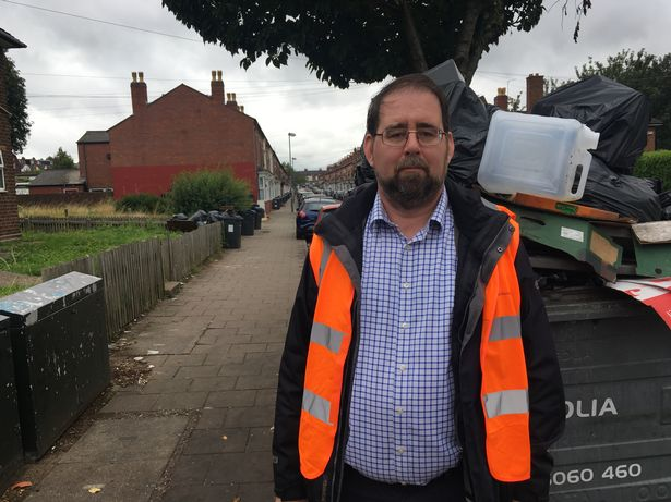 Cllr John O'Shea, street scene and parks boss for Birmingham City Council.