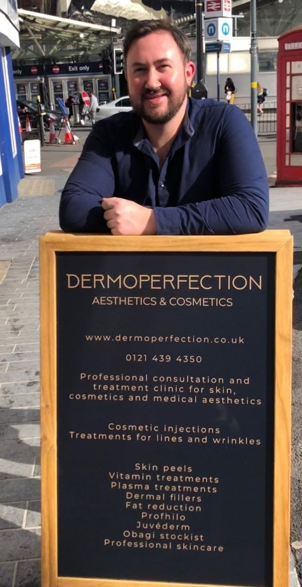 Stu Logan from Dermoperfection