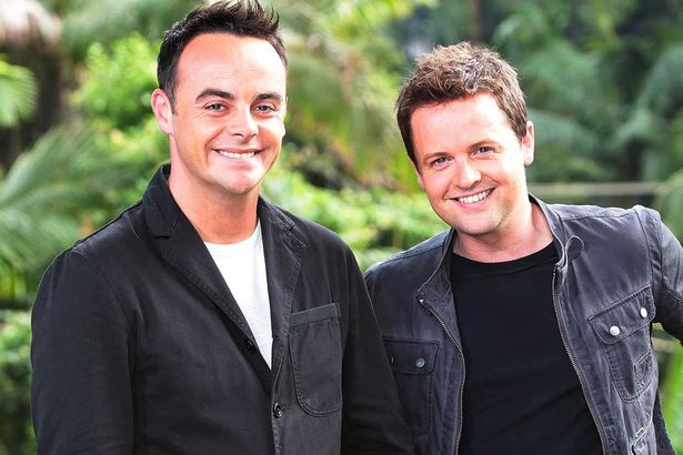 Ant and Dec on ITV I'm a celebrity ... Get me out of here!
