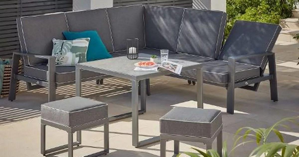shortage of garden furniture as uk