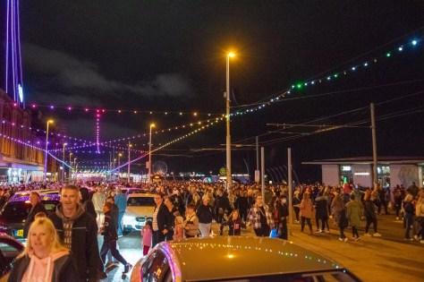 World Firework Championships in Blackpool