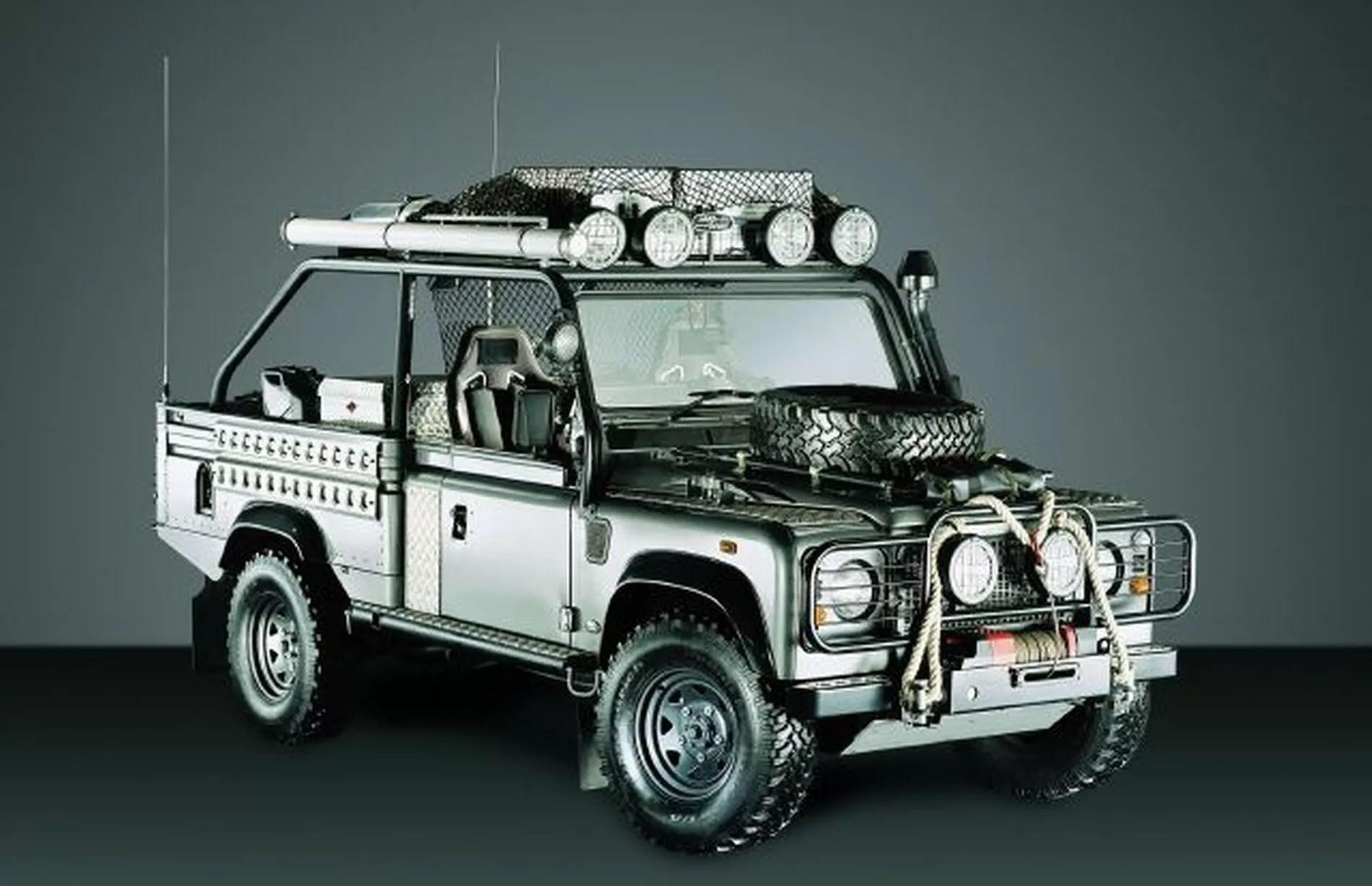 Land Rover Defender Birmingham Mail