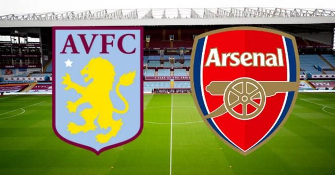 Aston Villa vs Arsenal LIVE updates from Villa Park