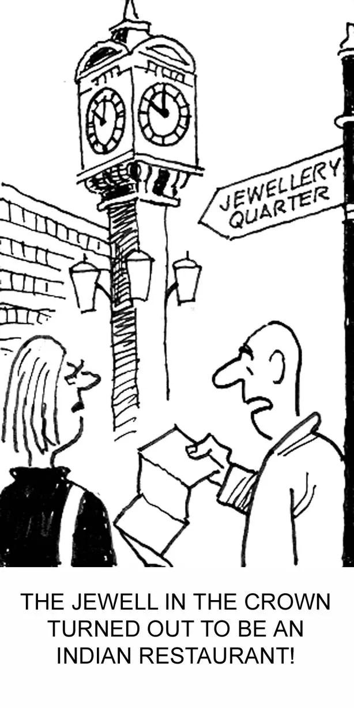 Gemini cartoons by Bert Hackett in the Birmingham Post