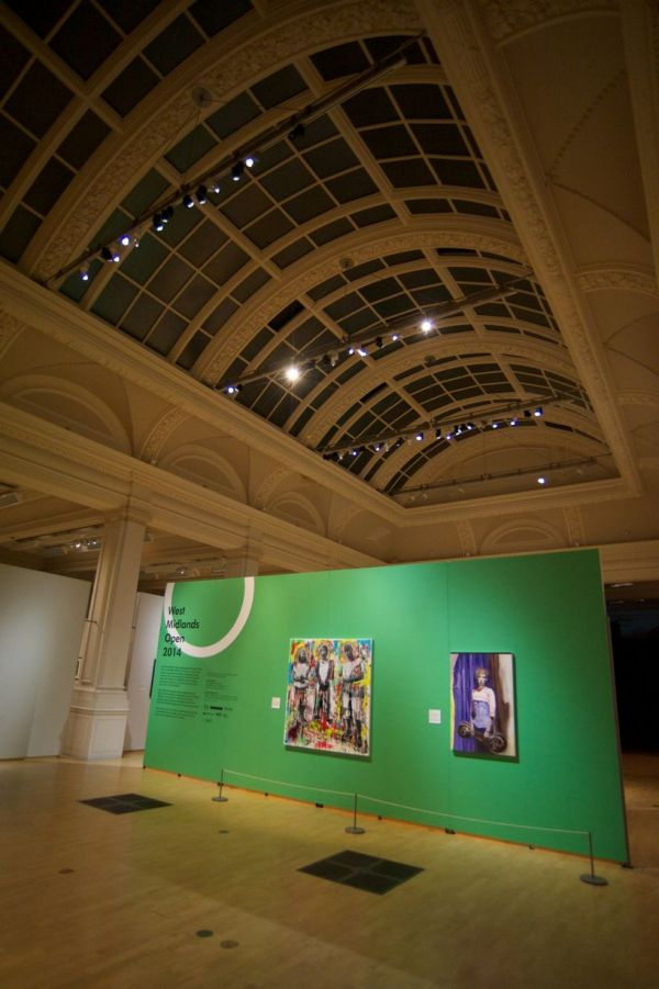 West Midlands Open Exhibition In Gas Hall Of