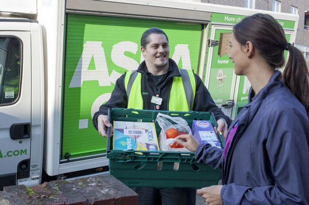 An Asda delivery driver