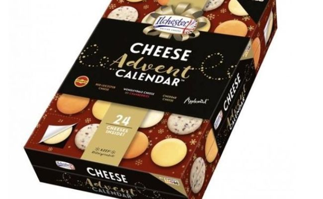 Merry Cheesemass Asda Is Selling An Advent Calendar With
