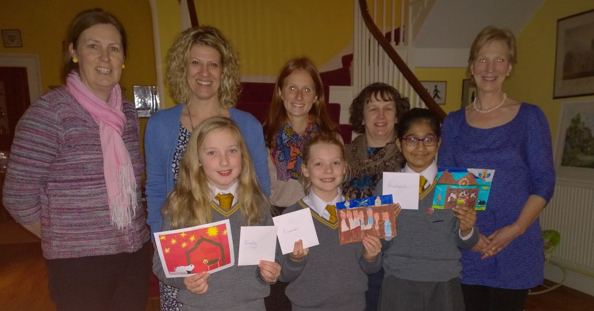 Firs School Pupils Designs Christmas Card For The Bishop
