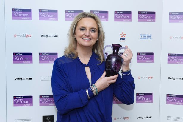 simply bows and chair covers newcastle where to make cushions north east businesswoman sarah pittendrigh named uk s most founder of overall winners at the natwest
