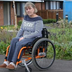 Wheelchair Fight Fishing Chair Minecraft Disabled Woman Who Fell Out Of Her Leads For Better Facilities At Byker Complex