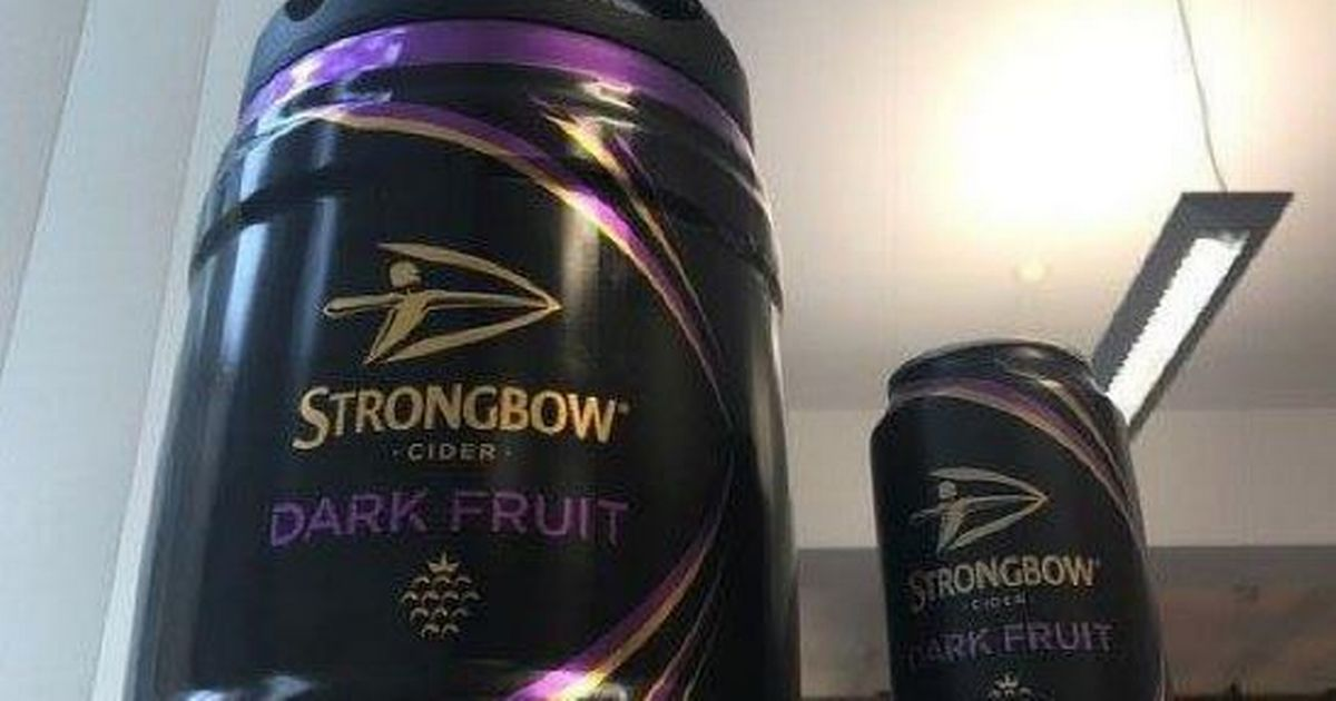 Strongbow Dark Fruit Will Soon Be Available To Buy In A