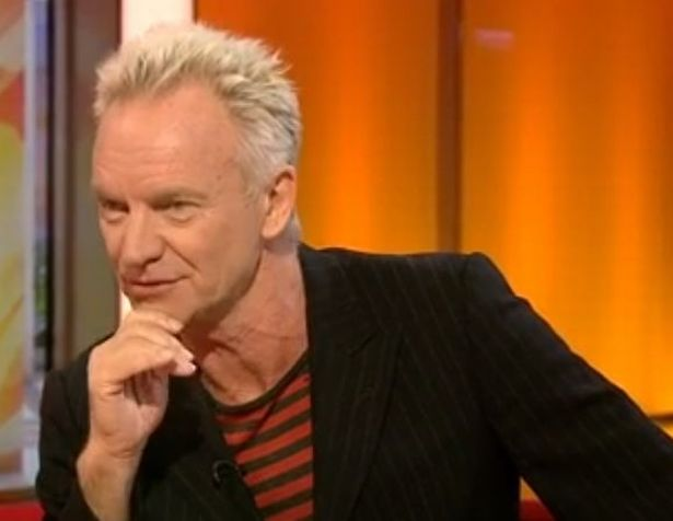 Sting serves up BBC Breakfast viewers a taster of his