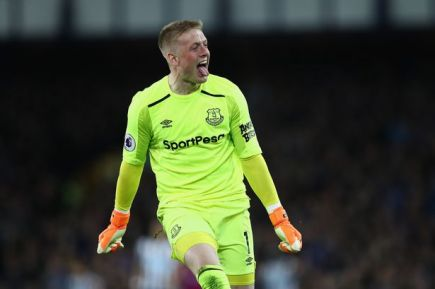 Image result for jordan pickford bbc everton
