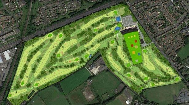 Plans for a new driving range and digital golf activity centre in Wallsend have been unveiled