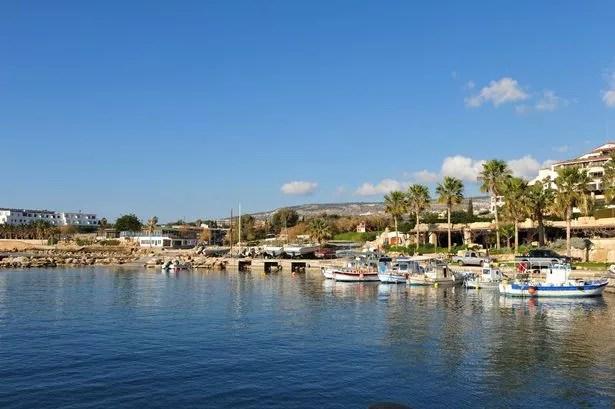 Coral Bay Harbor, Paphos, Cyprus