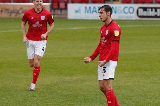Crewe Alex boss on why Harry Pickering has been given captain's armband -  Cheshire Live