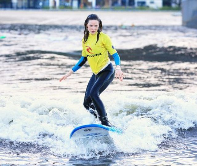 Mission Impossible Rogue Nation Star Rebecca Ferguson Took On Surf Snowdonias Waves Image Jameslifeoutthere Photography