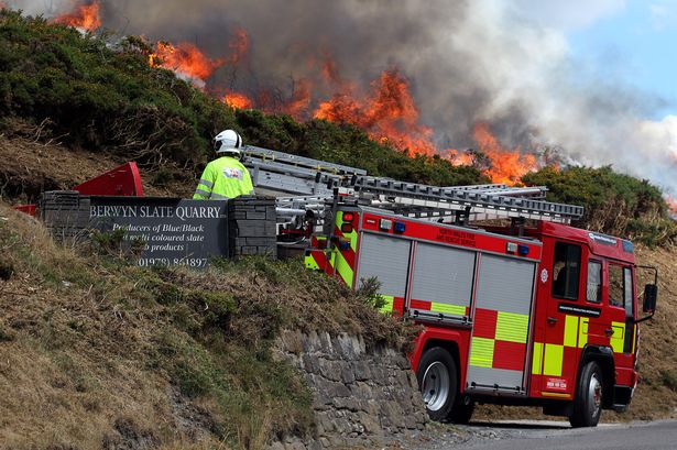 north wales fire and