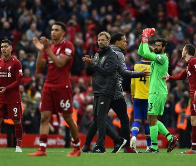 Liverpool Fcliverpool Fcs Best Start To A Premier League Season But This Is Why They Hope History Wont Repeat Itself