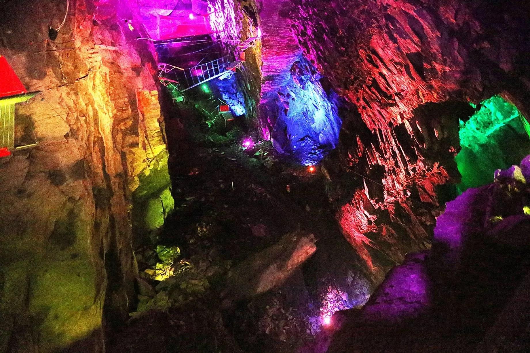 4 man zip wire wales simple flower diagram world caverns opens at blaenau ffestiniog daily post