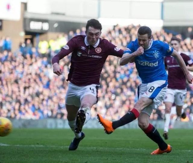 Rangers Jamie Murphy Shoots Wide Image Pa