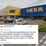 Frustrated Celtic Fan Threatens To Blow Up Glasgow Ikea In