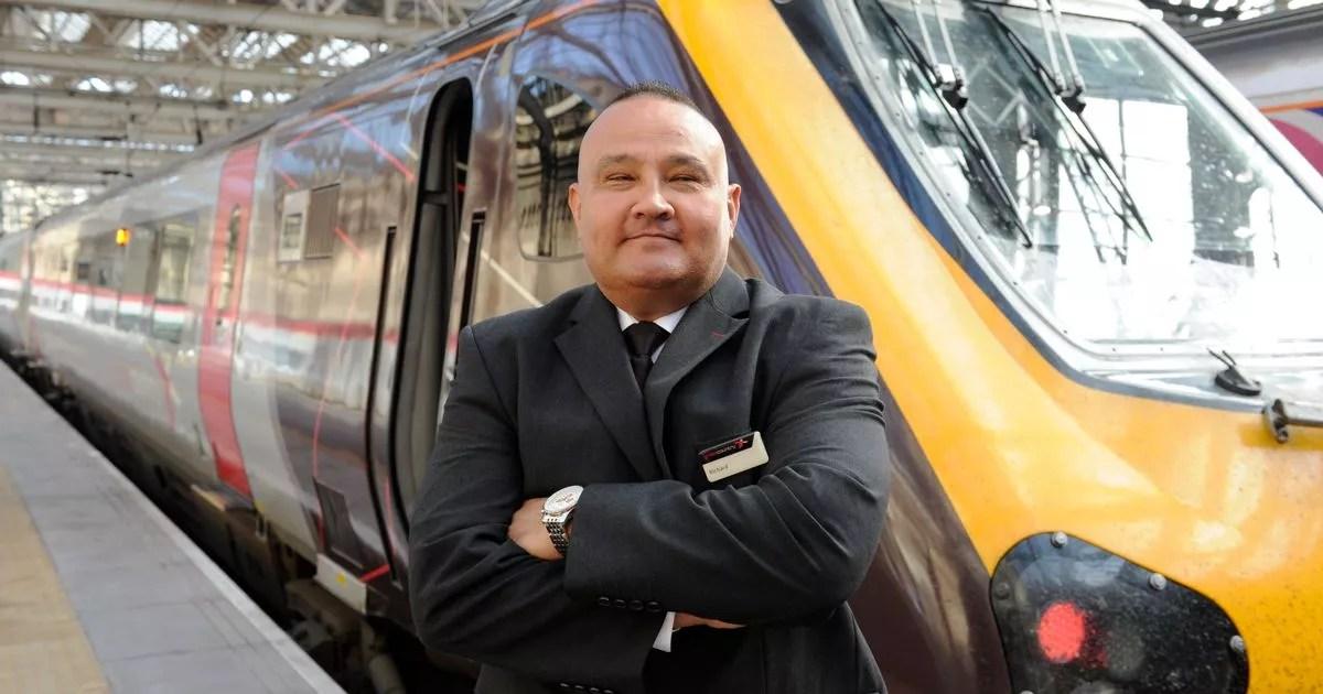 Great Scot Awards Hero Train Driver Richard Saved Two
