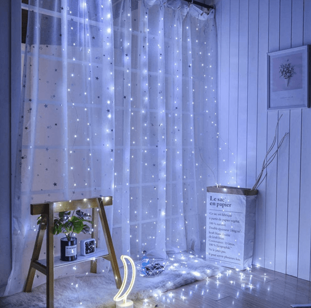 remote control led curtain lights will