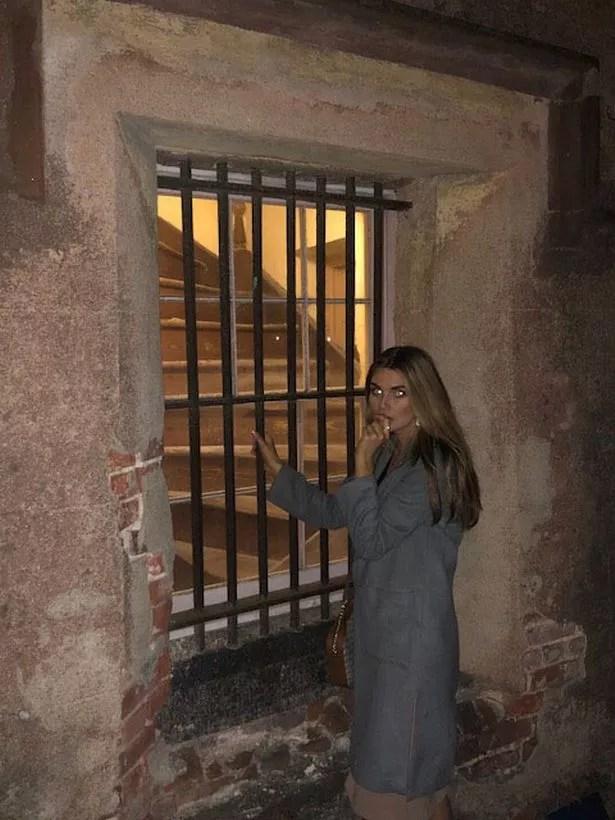 Nikki DuBose a courageusement osé entrer dans la prison d'Old Charleston