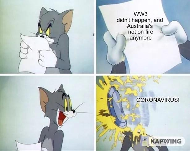 Coronavirus Memes Lockdown Funny Pictures